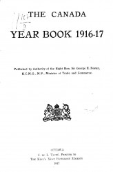 The Canada year book 1916-17