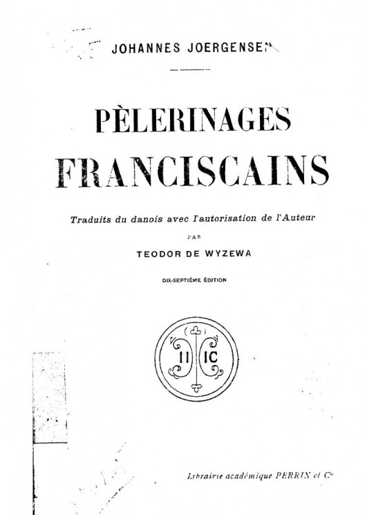 Pelerinages franciscains