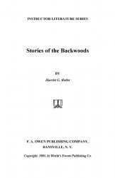 Stories of the backwoods