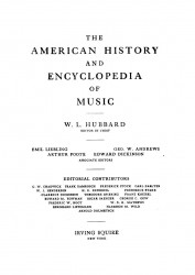 The American history and encyclopedia of music. Volume 2