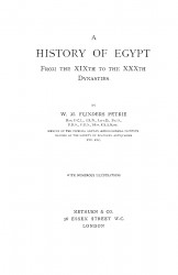 A history of Egypt. Volume 3. From the 19th to the 30th dynasties