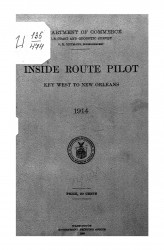 Inside Route Pilot. Key West to New Orleans. 1914