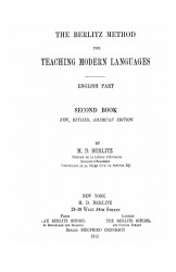 The Berlitz method for teaching modern languages. English part. Book 2