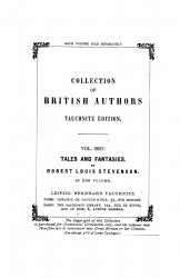 Collection of British authors. Volume 3837. Tales and fantasies