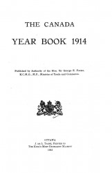 The Canada year book 1914