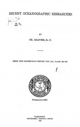 From the Smithsonian report for 1914, pages 353-362. Recent oceanographic researches